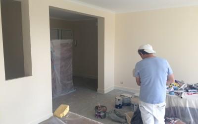 Préparation peinture appartement versailles